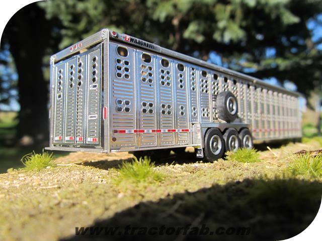 1 64 Wilson 36 Foreman Triaxle Gooseneck Trailer Kit